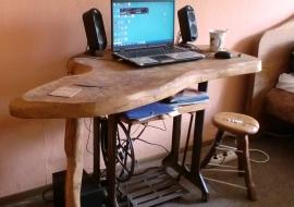Kompiuterio stalas - Ąžuolas