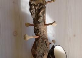 Puodelių kabykla - Ąžuolas, uosis. h-47cm.