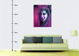 Amy Winehouse. Drobė, aliejus. 120x100cm. 2012m. (Interjere) (Parduodamas)