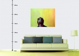 Autoportretas 2. Kartonas, aliejus.100x140cm. 2012m. (Interjere) (Parduodamas)