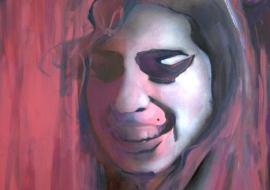 Amy Winehouse. Drobė, aliejus. 120x100cm. 2012m. (Parduodamas)