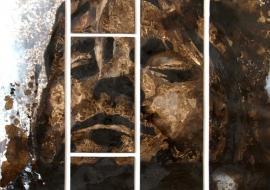Kurt Cobain. Drobė, aliejus. 120x94cm. 2012m. (Parduotas)