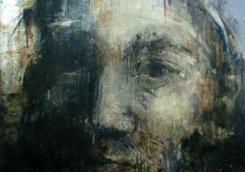 Tėvas. Drobė, aliejus. 100x118,5cm. 2014m. (Interjere) (Parduodamas)