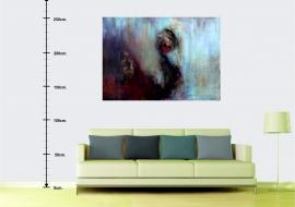 Sapnas. Drobė, aliejus. 120x168cm. 2012m. (Interjere) (Parduodamas)