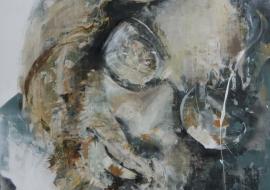 Artūras. Drobė, akrilas, aliejus. 160x120cm. 2014m. (Parduodamas)