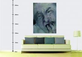 Bukas. Drobė, akrilas, aliejus. 160x120cm. 2014m. (interjere) (Parduodamas)