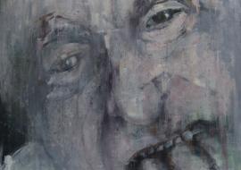 Bukas. Drobė, akrilas, aliejus.  160x120 cm. 2014 m. (Parduodamas)