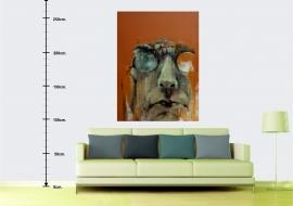 Jurgis. Drobė, akrilas, aliejus. 160x120cm. 2014m. (interjere) (Parduodamas)