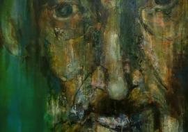 Justinas. Drobė, akrilas, aliejus. 160x120cm. 2014m. (Parduodamas)