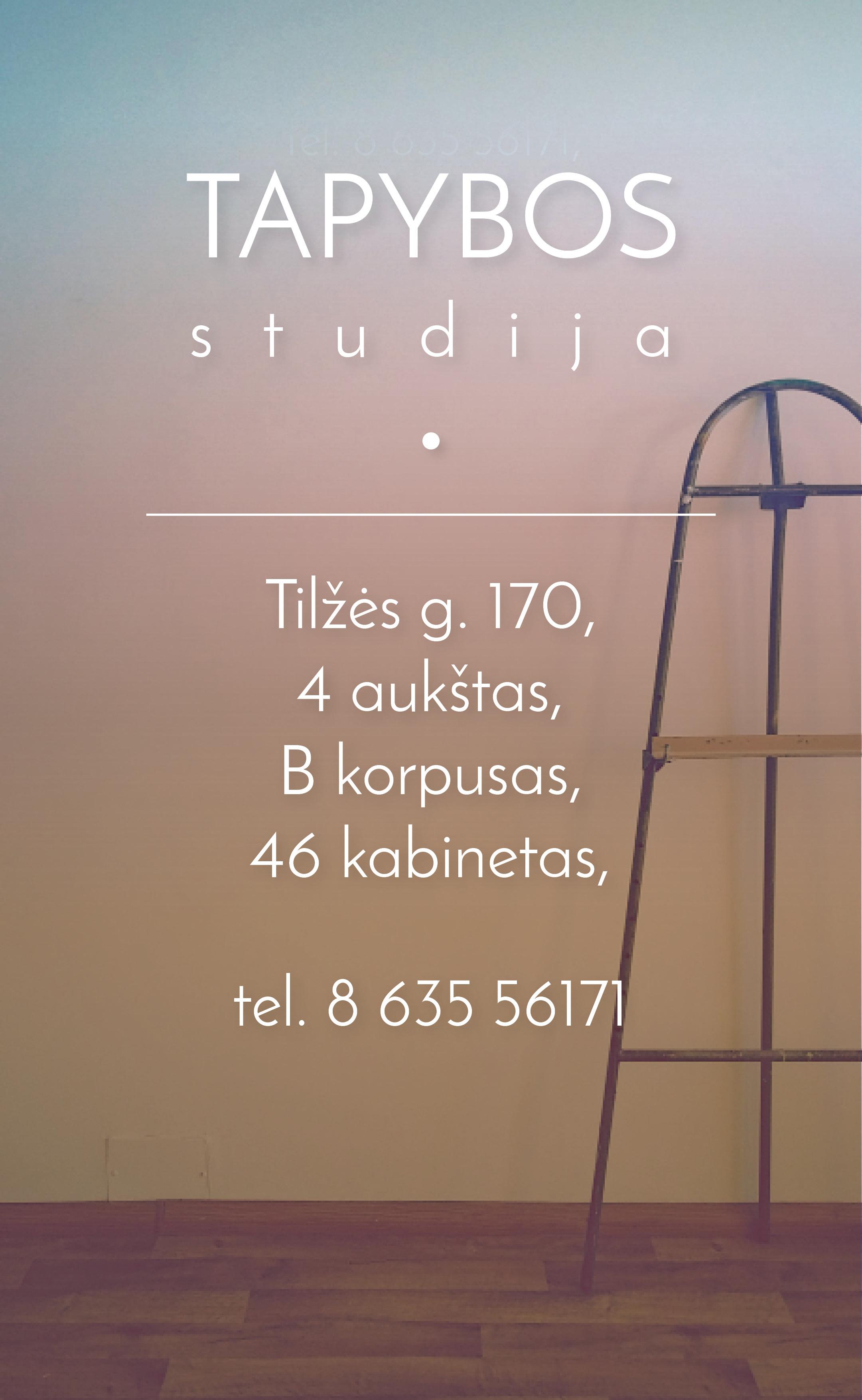 tapybos studija3